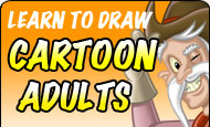 Learn to draw Cartoon Adults!