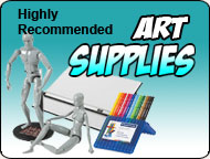 Highly recommended art supplies!