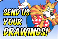 Send us your drawings you did from our lessons to display in our artist gallery!